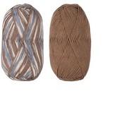 Новый в упаковке набор эластичная пряжа для носков Lorena 2 шт*100г(2*430м) Crelando Германия