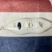 Электропростынь, простынь электрическая electric blanket 150*120 ( в полоску) в сумке
