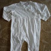 H&M человечек, слип, пижама р.74+