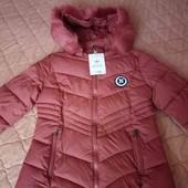 Стильная куртка утепленная новая