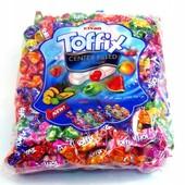Жевательные конфеты Тоффикс с фруктовой начинкой внутри. Турция. Оригинал. Лот 500 грм