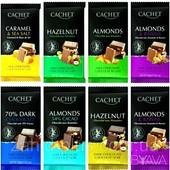 Бельгийский шоколад премиум класса Cachet.
