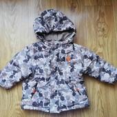 куртка курточка демисезон осень весна на мальчика 9-12 мес 1 год