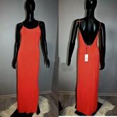 Качество! Стильное натуральное макси платье от модного американского бренда Papaya