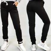 Мега-хит сезона❤Женские стильн.штаны,турец.трикотаж,2-нитка,Р.44,46выс.талия,шнурок,манжеты❤