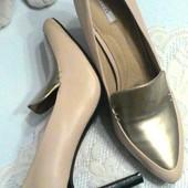 Шикарные Кожаные туфли-лодочки GEOX - оригинал! размер 39,5 -