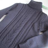Классный шерстяной свитер ADA Yildiz на вашего модника р.128. Новый с биркой!!