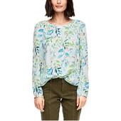 ☘ Лот 1 шт ☘ Чудова блуза з квітковим візерунком, від s.oliver (Німеччина), розмір 42 євро