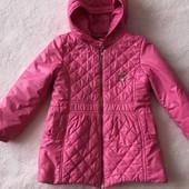 Рожева курточка плащик