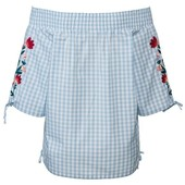 блуза кармен с вышивкой esmara германия, р. 44/46