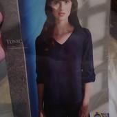 Esmara Германия Удлиненная свободная шифоновая блуза 44р евро