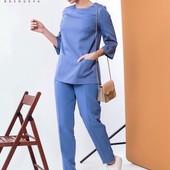 Стильный костюм(блуза-брюки)