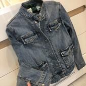 Очень класная джинсовая куртка Без следов носки от Bulkish (Булкиш)