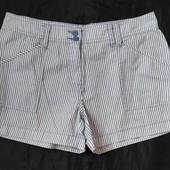 Коттоновые шорты в полоску,F&F,12p(L)