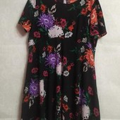 Стильное летнее платье,цветочный принт Dorothy Perkins