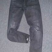 Крутые укороченные джинсы