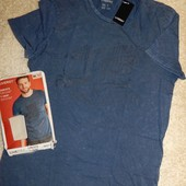 мужская стильная футболка, винтажный стиль, от Livergy.