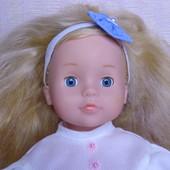 Кукла красивая большая .Рост 48 см.В родном комплекте ! Отличная !