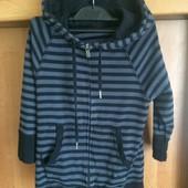 Кофта, p. 3 года 98 см. H&M sport, куртка