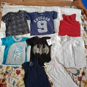 футболки одним лотом 3-5 лет