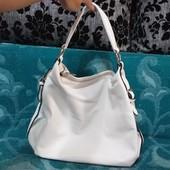 Белая оригинальная сумка!!