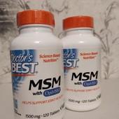 поддержка суставов и связок - МСМ 1500 мг 120 штук, Америка