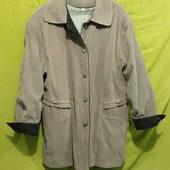 Мягонькая и очень уютная:) лёгкая_деми_куртка/пиджачок_пог 57 см_(не секонд! рекомендуется освежить)