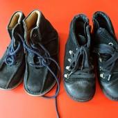 Две пары ботиночек одним лотом размер 25.5 и 26