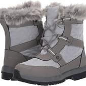 Нові зимові черевики Bearpaw р.35 шкіра з хутром. Нюанс. Зимние ботинки