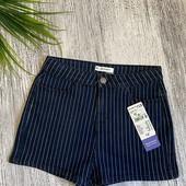 Kiabi стильные джинсовые шорты р.14 лет