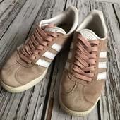 Кроссовки Adidas gazelle, 36р. натуральная замша