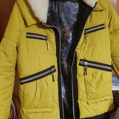 Очень классная куртка- парка