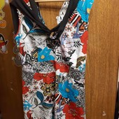 яркое платье на на лето