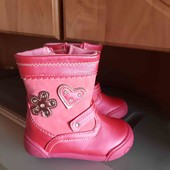 шикарные новые ботиночки размер 20 стелька 12