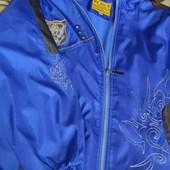 куртка вітровка на флісі