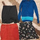Лот одягу ,розмір s,юбки .