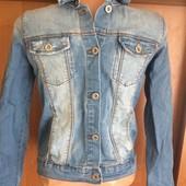 Куртка, пиджак джинсовий р. 11-12 лет 152 см. ZARA. в ідеалі