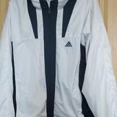 Спортивная куртка -ветровка adidas,р. 48-52