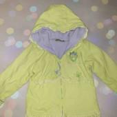 Куртка на флисе 3-4года. Много лотов