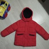 Шикарная куртка Marks&Spencer. На 4-5лет.
