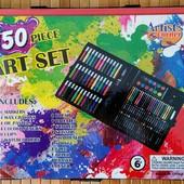 Художественный набор для детского творчества в чемодане Super Mega Art Set 150 предметов  Набор для