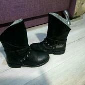 Кожаные ботиночки 29размера,стелька 19см.