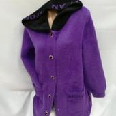 Женские кардиганы-пальто альпака оверсайз,цвет на выбор