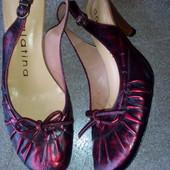 И д е а л√√ туфельки ,евро качество Dora latina ,к о ж а ,маленький каблучек.Испания.