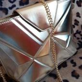 Золотистая сумка Destiny
