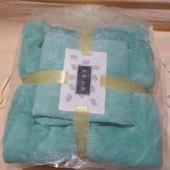 Комплект полотенец 140*70см. и 75*31см.( баня+ кухня). Из Микрофибра.