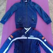 2 фирменные куртки-ветровки, р.116 (5-6 лет)