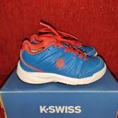 Кожаные кроссовки K Swiss USA! р.30 стелька 19см