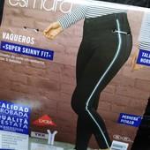 ГГ37.стильные джинсы syper Skinny Fit , от Esmara.