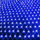 Светодиодная гирлянда cетка Led Синяя